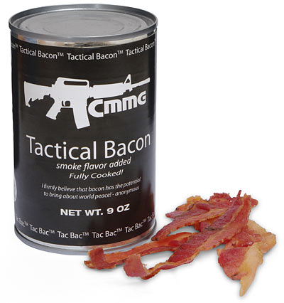 Tac Bac   Tactical Canned Bacon