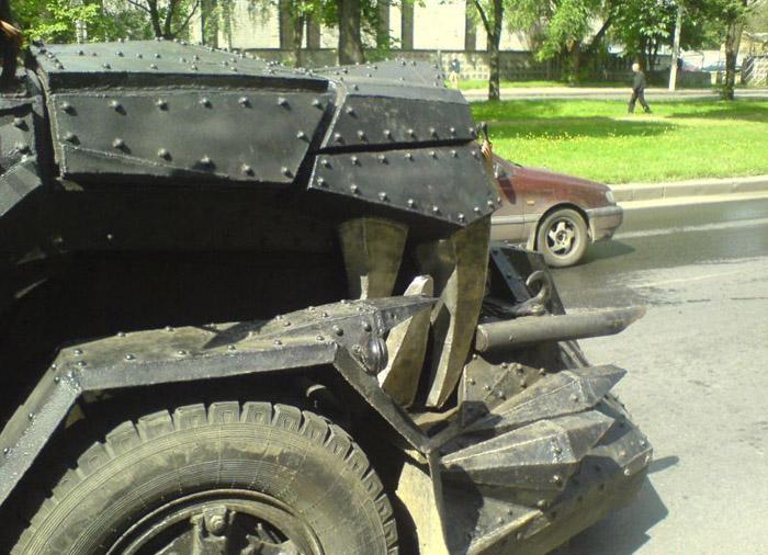 Survivalist Truck