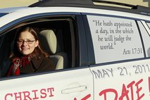 End of Days in May? Christian group spreads word