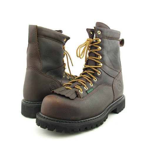 Mens Waterproof Logger Boots