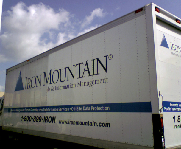 Iron Mountain - Truck