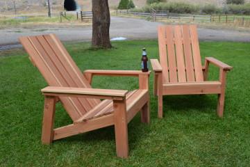 Curved Garden Chair