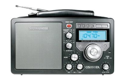 Grundig S350 Deluxe AM/FM/Shortwave Radio, Black