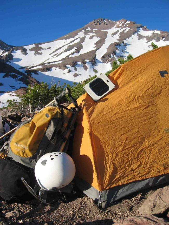solar joos orange - tent