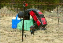 Electric Food Storage Fence for Bears