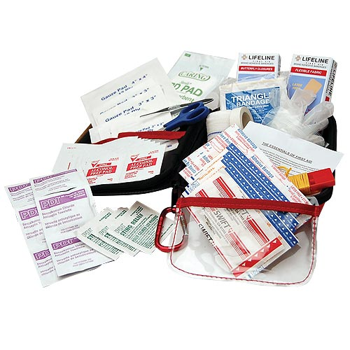 lifeline large first aid kit - contents