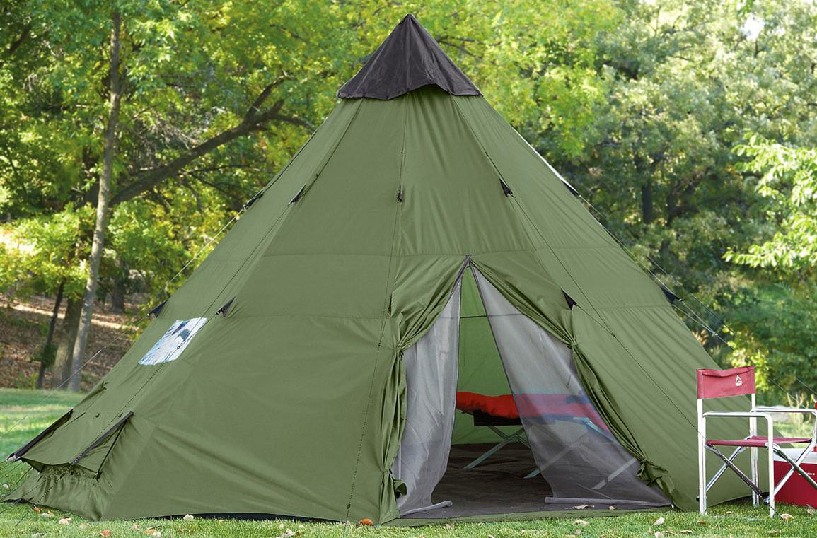 guide gear teepee tent